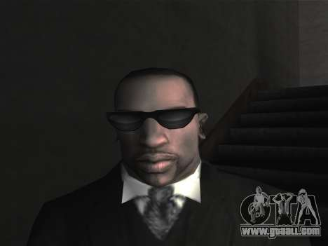 New glasses for CJ for GTA San Andreas fifth screenshot