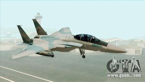 McDonnell Douglas F-15D Philippine Air Force for GTA San Andreas