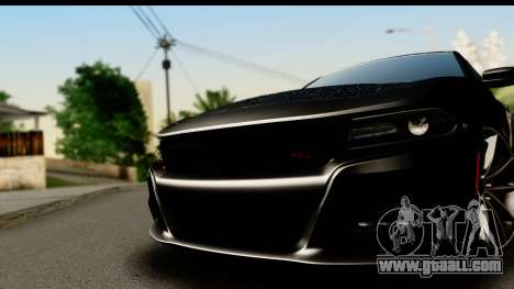 Dodge Charger RT 2015 Sword Art for GTA San Andreas back left view