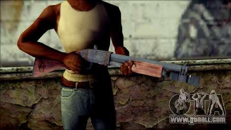 Rumble 6 Chromegun for GTA San Andreas third screenshot