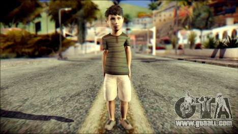 Dante Brother Child Skin for GTA San Andreas