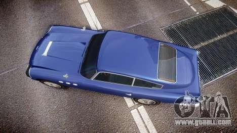 GTA V Dewbauchee JB 700 for GTA 4 right view
