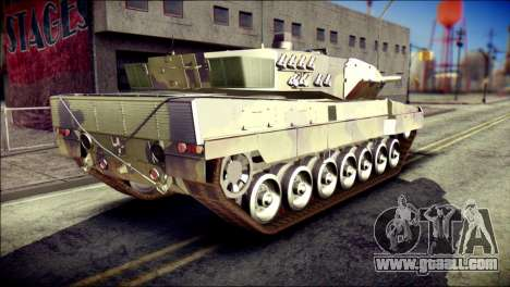 Leopard 2A6 for GTA San Andreas left view