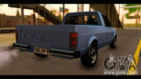 Volkswagen Caddy Mk1 Stock for GTA San Andreas left view