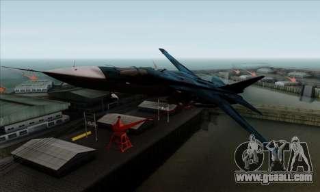 SU-24MP Fencer Blue Sea Camo for GTA San Andreas