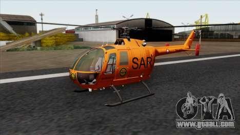 MBB BO-105 Basarnas for GTA San Andreas