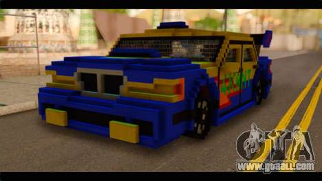 Minecraft Elegant for GTA San Andreas