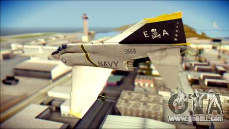 McDonnell Douglas F-4B Phantom II for GTA San Andreas left view