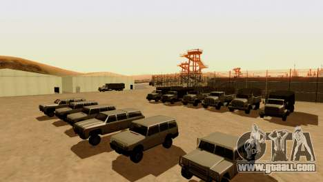 DLC 3.0 Military update for GTA San Andreas fifth screenshot