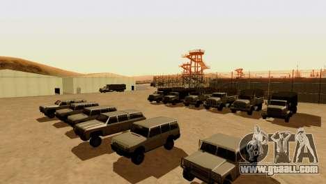 DLC 3.0 Military update for GTA San Andreas fifth screenshot