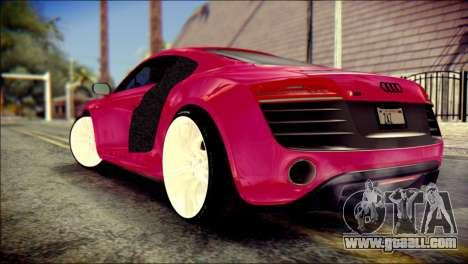 Audi R8 V10 Plus 5.2 FSI 2013 for GTA San Andreas left view