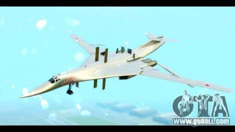 TU-160 Blackjack for GTA San Andreas