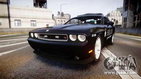 Dodge Challenger SRT8 Police [ELS] for GTA 4