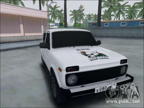 Lada Niva for GTA San Andreas left view