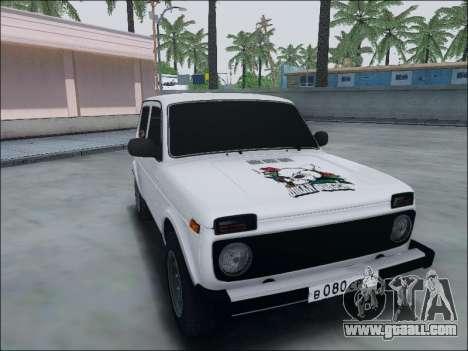 Lada Niva for GTA San Andreas left view