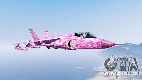 GTA 5 Hydra pink urban camouflage