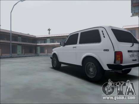 Lada Niva for GTA San Andreas inner view