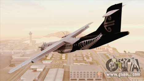 ATR 72-500 Air New Zealand for GTA San Andreas left view