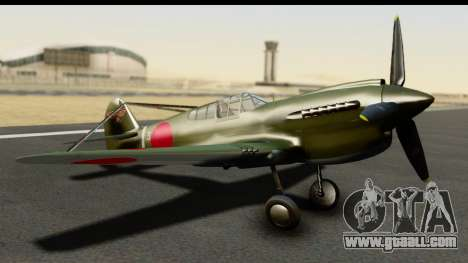 P-40E Kittyhawk IJAAF for GTA San Andreas