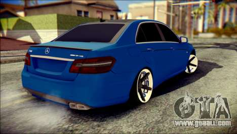 Mercedes-Benz AMG for GTA San Andreas left view