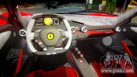 Ferrari LaFerrari 2013 HQ [EPM] PJ4 for GTA 4 inner view