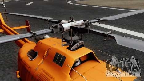 MBB BO-105 Basarnas for GTA San Andreas back view