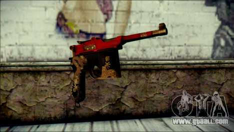 Mauser M1896 Royal Dragon CF for GTA San Andreas