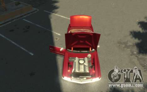 GTA 3 Yardie Lobo HD for GTA 4 back view