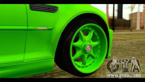 BMW M3 E46 Stock for GTA San Andreas back left view