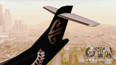 ATR 72-500 Air New Zealand for GTA San Andreas back left view