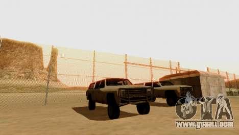 DLC 3.0 Military update for GTA San Andreas twelth screenshot
