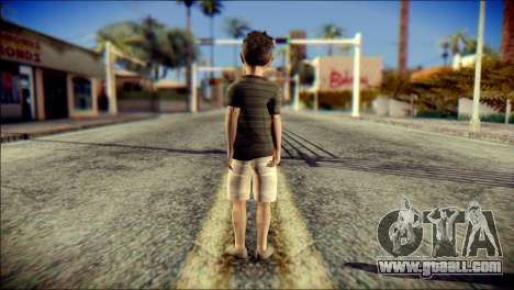 Dante Brother Child Skin for GTA San Andreas second screenshot