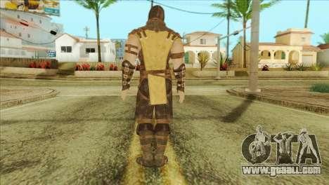 Mortal Kombat X Scoprion Skin for GTA San Andreas second screenshot
