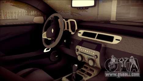 Chevrolet Camaro ZL1 Indonesian Police v2 for GTA San Andreas right view