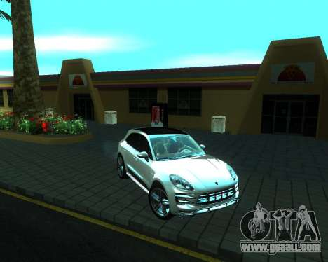 Porsche Macan Turbo for GTA San Andreas left view