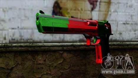 Desert Eagle Portugal for GTA San Andreas