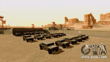 DLC 3.0 Military update for GTA San Andreas forth screenshot