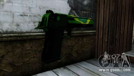 Desert Eagle Brazil for GTA San Andreas second screenshot