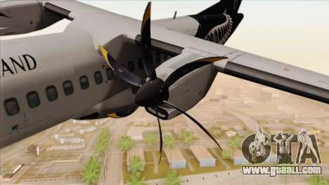 ATR 72-500 Air New Zealand for GTA San Andreas right view