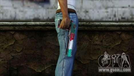 Desert Eagle Italia for GTA San Andreas third screenshot