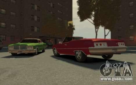 GTA 3 Yardie Lobo HD for GTA 4 inner view