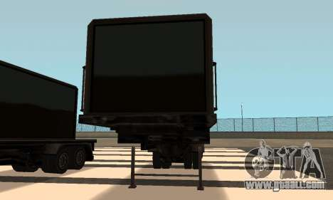 PS2 Article Trailer for GTA San Andreas inner view