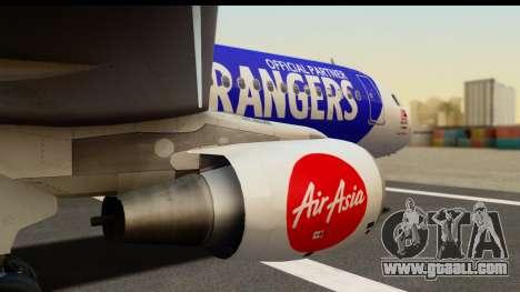 Airbus A320-200 AirAsia Queens Park Rangers for GTA San Andreas right view