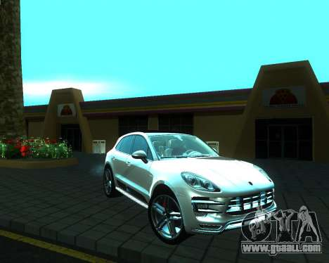 Porsche Macan Turbo for GTA San Andreas right view