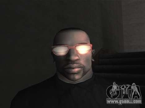 New glasses for CJ for GTA San Andreas ninth screenshot
