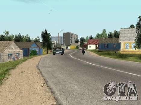 Prostokvashino for GTA Criminal Russia beta 2 for GTA San Andreas second screenshot