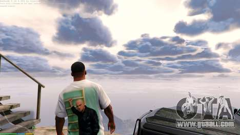 GTA 5 T-shirt for Franklin. - Fizruk second screenshot