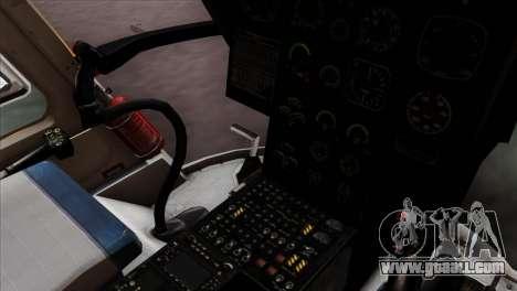 MBB BO-105 Basarnas for GTA San Andreas right view