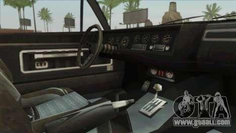 GTA 5 Declasse Stallion for GTA San Andreas right view