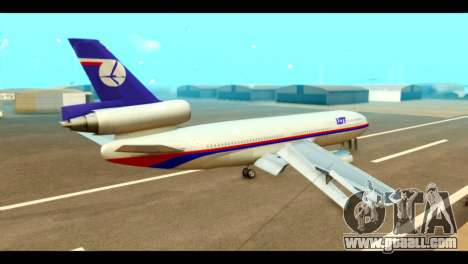 DC-10-30 PLL LOT for GTA San Andreas left view